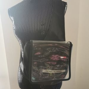 Vintage Tommy Hilfiger Nylon PVC Crossbody Bag